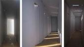 corridor  W 1m  L 9m  H 2,6m  1:50