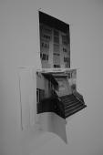 PANELÁK (BLOCK OF FLATS), 3D collage, 25x35x15cm